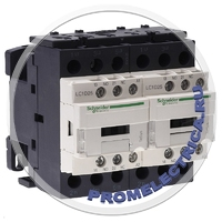 LC2D25BD Контактор реверсивный 3Р,25A,НО+НЗ,24V DС, Schneider Electric