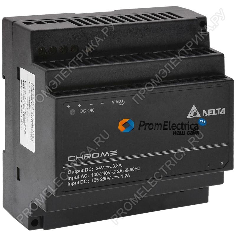 DRC-24V100W1AZ Модульный блок питания 24В, 100Вт, 3,8А, монтаж на DIN-рейку Delta Electronics
