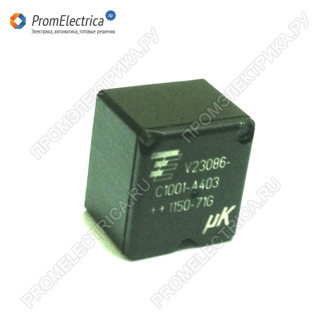 TE CONNECTIVITY - V23086C1001A403 - RELAY, PCB, MICRO K, 20А - реле силовое