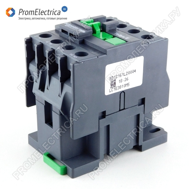 LC1E3810E5 КОНТАКТОР E 1НО 38А 400В AC3 48В 50ГЦ Schneider Electric