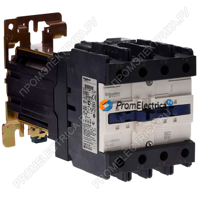 LP1D80004BD КОНТАКТОР4Р(4НО),AC1,125A,24VDC Schneider Electric
