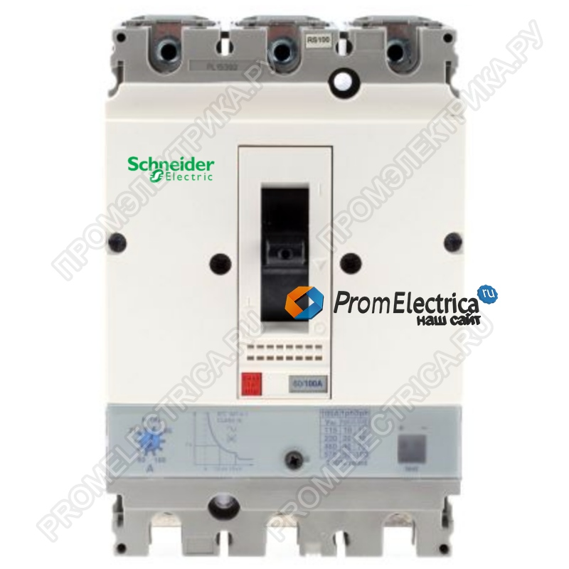 GV7RE80 АВТ ВЫКЛ С КОМБ РАСЦЕП48-80A 36KA Schneider Electric