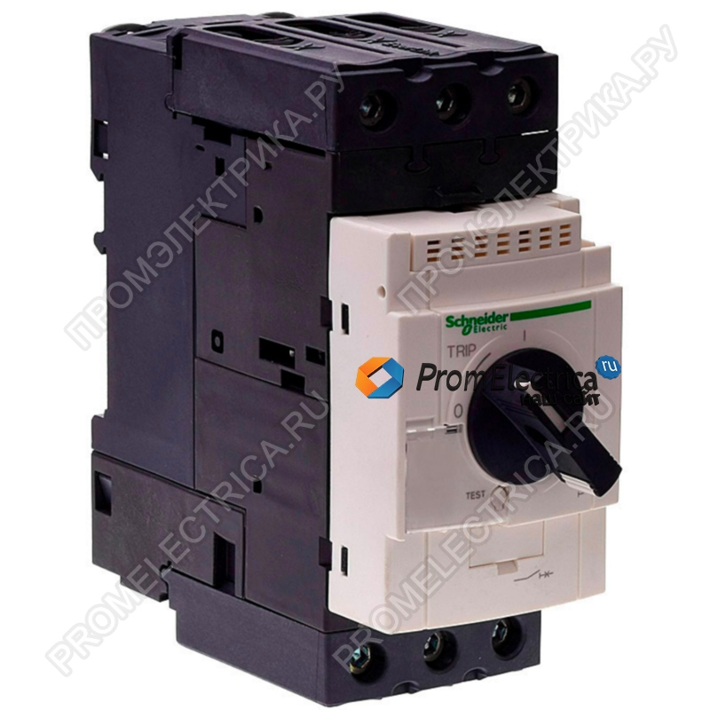 GV3L50 АВТОМАТ С МАГН РАСЦЕП 50А (ВИНТ ЗАЖ) Schneider Electric