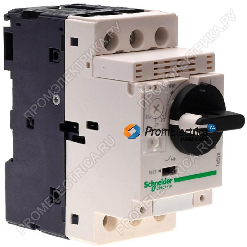GV2P06 АВТ ВЫКЛ С КОМБ РАСЦЕП 1-1,6А Schneider Electric