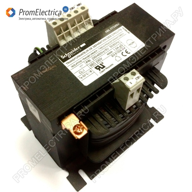 ABL6TS250U ТРАНСФОРМАТОР 230-400В 1X230В 2500ВA Schneider Electric